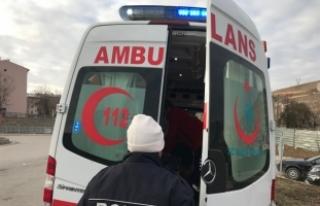 Bayburt'ta beton mikserinin çarptığı kadın öldü