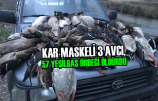 Kızılırmak Deltası Kuş Cennetinde Ördek Katliamı