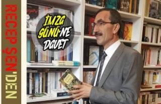 """""""ŞİİRLERDE BUL BENİ"""" İmza Gününe Davet"""