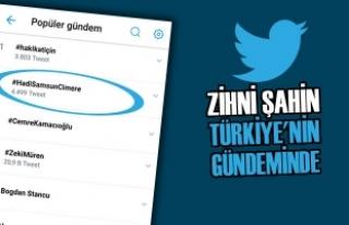 Zihni Şahin Yeniden Türkiye'nin Gündeminde