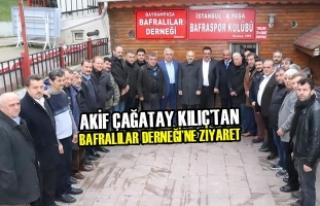 Akif Çağatay Kılıç'tan Bafralılar Derneği'ne...