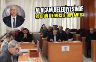 Alaçam Belediyesinde 2019 Yılının İlk Meclis...