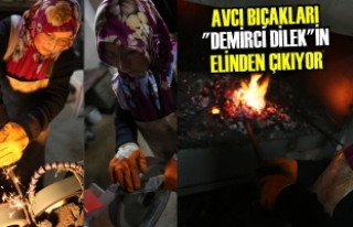 """Avcı Bıçakları """"Demirci Dilek""""in Elinden..."""