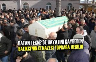 Balıkçı'nın Cenazesi 19 Mayıs İlçesinde Toprağa...
