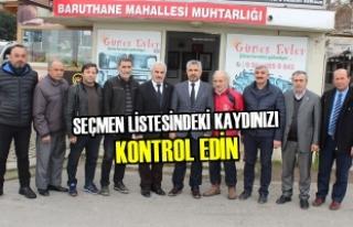 Başkan Aksu'dan Vatandaşlara Çağrı...