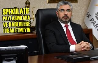 Başkan Ersan Aksu'dan Açıklama