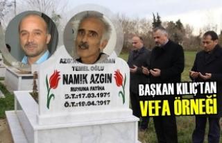 Başkan Kılıç'tan Merhum Gazetecilere Vefa Örneği