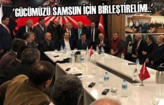 Başkan Zihni Şahin, Başkentte ASİAD'ın Konuğu