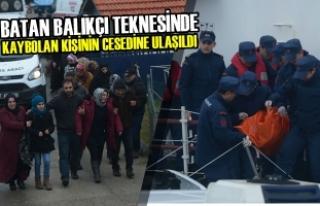 Batan Balıkçı Teknesinde Kaybolan Kişinin Cesedine...