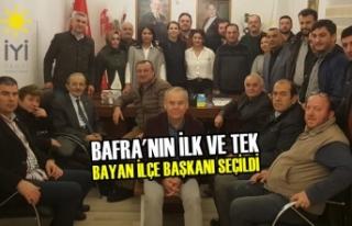 İYİ Parti ilçe Başkanlığına İfaket İpek Çelebi...