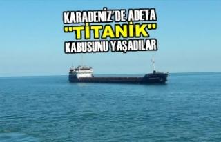 """Karadeniz'de Adeta """"TİTANİK"""" Kabusunu..."""