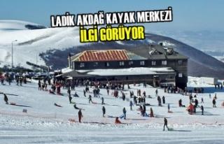 Ladik Akdağ Kayak Merkezi İlgi Görüyor