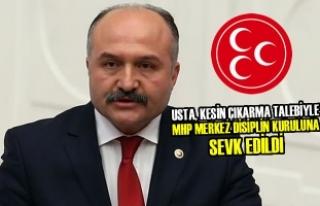 MHP'li Erhan Usta MDK'ye Sevk Edildi