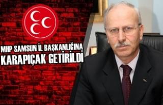 MHP'nin Yeni İl Başkanı Abdullah Karapıçak...