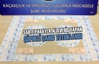 Sahte Parayla Alışveriş Yapan Şüpheli Tutuklandı