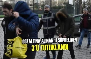 Samsun'daki Silah Kaçakçılarına Yönelik...