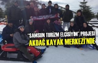"""""""Samsun Turizm Elçisiyim"""" Projesi Akdağ Kayak..."""