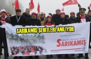 Samsun'da Sarıkamış Şehitleri Anılıyor