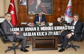Tarım ve Orman İl Müdürü Kırmacı'dan Başkan...