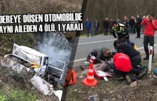 Trafik Kazasında Aynı Aileden 4 Ölü, 1 Yaralı