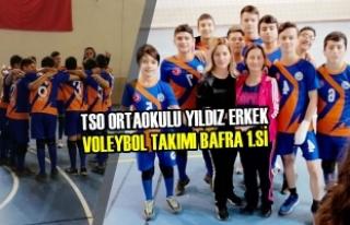 TSO Ortaokulu Yıldız Erkek Voleybol Takımı Bafra...