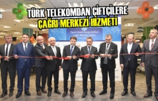 Türk Telekomdan Çiftçilere Çağrı Merkezi Hizmeti