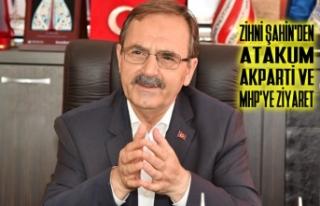 Zihni Şahin'den Atakum AK Parti ve MHP'ye...