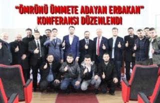 """Bafra'da """"Ömrünü Ümmete Adayan Erbakan""""..."""
