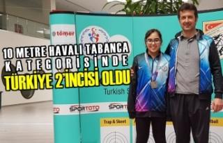 Bafralı Sporcu Türkiye 2'incisi Oldu
