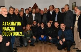 Başkan Zihni Şahin, Akalan Mahallesi'nde Halkla...