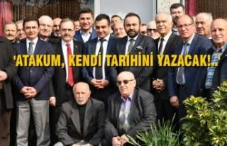 Başkan Zihni Şahin, Atakum'da Kavaklılarla...
