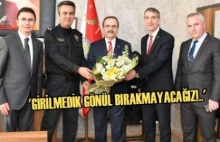 Başkan Zihni Şahin'den Atakum'da Ziyaret...