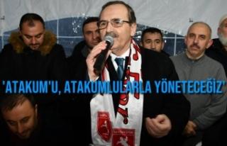 Başkan Zihni Şahin'e 2 Mahallede De Görkemli...