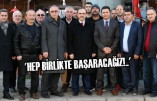 Başkan Zihni Şahin'e, Atakum Esenevler'de...