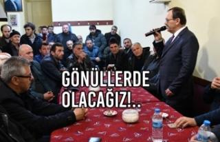 Başkan Zihni Şahin, Taflan Mahallesi'nde Halkla...