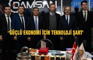Başkan Zihni Şahin, Teknopark ve Ar-Ge Buluşmalarında...