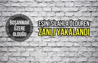 Bursa'da Eşini Silahla Öldüren Zanlı Yakalandı