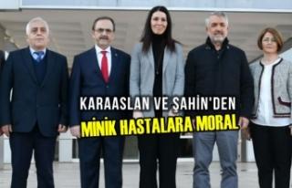 Çiğdem Karaaslan ve Zihni Şahin, Tıp Fakültesi...