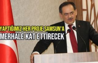 """Demir; """"Yaptığımız Her Proje Samsun'a Merhale..."""