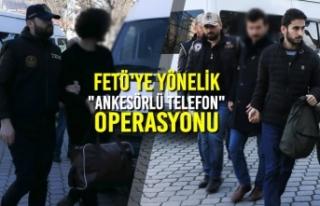 """FETÖ'ye Yönelik """"Ankesörlü Telefon""""..."""