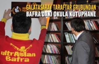 Galatasaray Taraftar Grubundan Bafra'daki Okula...