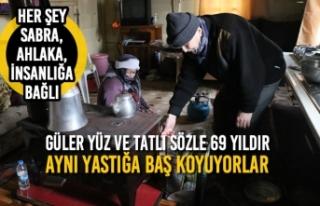 Güler Yüz Ve Tatlı Sözle 69 Yıldır Aynı Yastığa...