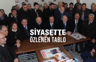 Hayati Tekin; Erhan Usta'nın Seçim Bürosu'nu...