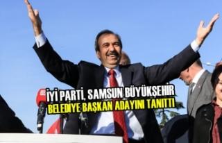 İYİ Parti, Samsun Büyükşehir Belediye Başkan...