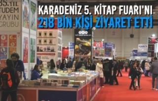 Karadeniz 5. Kitap Fuarı'nı 218 Bin Kişi Ziyaret...