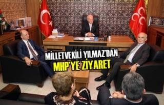 Milletvekili Yılmaz'dan MHP'ye Ziyaret