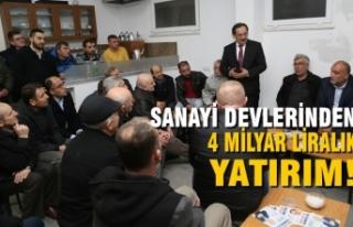 Mustafa Demir; '4 Milyarlık Yatırım Hazır!'