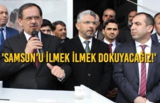 Mustafa Demir, 5 İlçede SKM Açılışlarına Katıldı