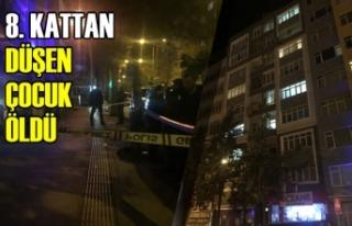 Samsun'da 8. Kattan Düşen Çocuk Öldü