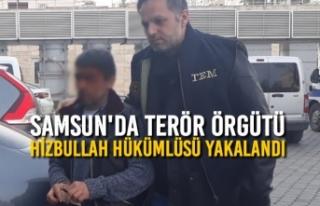 Samsun'da Terör Örgütü Hizbullah Hükümlüsü...